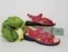 schuhmoden simon ravensburg finn comfort sandale wechselfussbett gomera rot damen