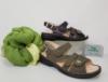 schuhmoden simon ravensburg finn comfort sandale wechselfussbett gomera schwarz oliv gruen damen